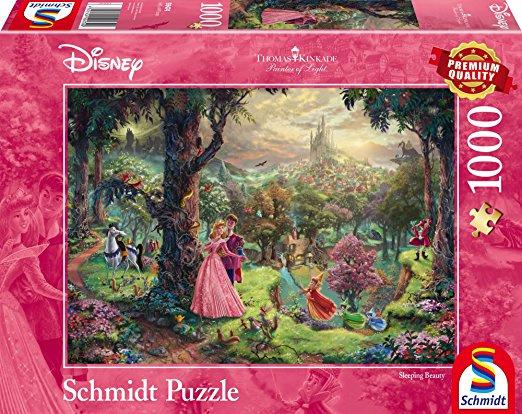 Disney Thomas Kinkade - Doornroosje - 1000 stukjes