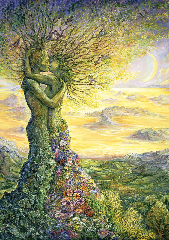 Art Puzzle - Love of Nature - 1000 stukjes