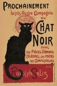 Londji Theophile-Alexandre Steinlen - Le Chat Noir - 150 Micro stukjes