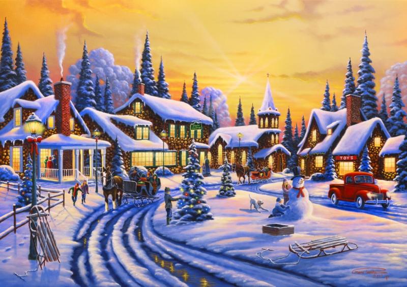 Bluebird - a Christmas Story - 1500 stukjes