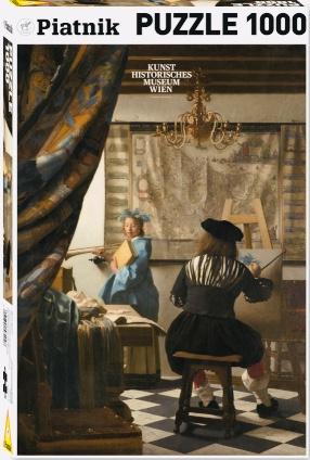 Piatnik Johannes Vermeer - De Schilderkunst - 1000 stukjes