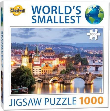 TFF World's Smallest - Prague Bridges - 1000 stukjes  Minipuzzel