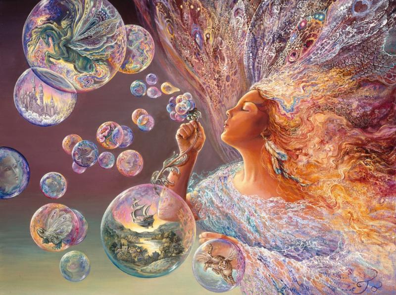 Grafika Josephine Wall - Bubble Flower - 2000 stukjes