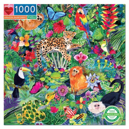 eeBoo - Amazon Rainforest - 1000 stukjes