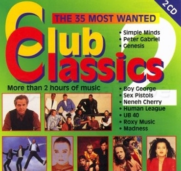 Club Classics - The Most 35 Wanted  **2CD**