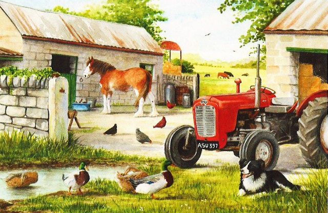 House of Puzzles - Dog & Duck - 250XL stukjes