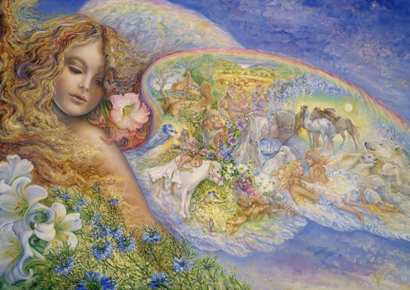 Grafika Josephine Wall - Wings of Love - 2000 stukjes