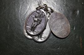 Devotie medaille Sebastiaan 2 cm Boogschutter