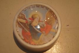 Rozenkrans doosje, Heilige Michael, doosje uit jaren 50