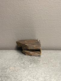 Sokkel, hout, 8 x 8 cm ca. (8)