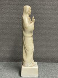 Jezus Heilig Hart, biscuit porselein, 16 cm (1)