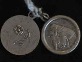 Devotie medaille Antonius rond