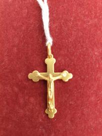 Kruisje, zilver / double, 3.5 cm