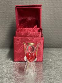 Glazen engel in cadeauverpakking, 5 cm (7)