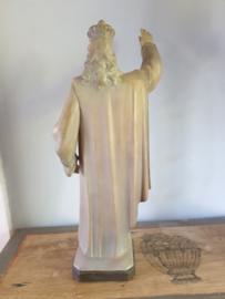 Christus koning, gips, 45cm (H)