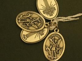 Devotie medaille Michael 2 cm ovaal