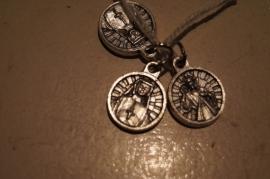 Devotie medaille Faustina/Barmhartige Jezus