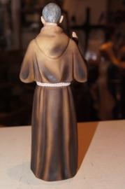 Pio van Pietrelcina, resin, 20 cm lijkt op hout (5)