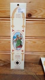 Wierookstokjes 15 stuks, Heilige Christoffel, Sandelwood