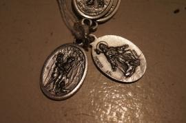 Devotie medaille Hubertus / Rochus