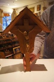 Crucifix Eikenhout, Duits 41 cm, corpus 15 cm (10)