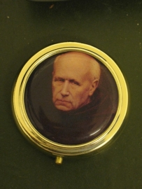 Pyxis Hostie doosje Valentinus 5 cm doorsnee