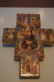 San Damiano kruis 22 x 17 cm