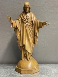 Jezus, gips, Gebroeders van Paridon, 38 cm, licht beschadigd 1900 (1)