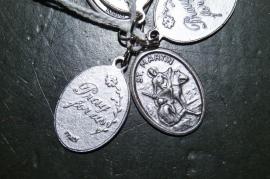 Devotie medaille Martinus 2 cm