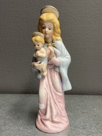 Maria met kind, porselein, 21 cm (8)