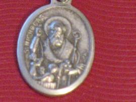 Devotiemedaille van Sint Nicolaas de Myra