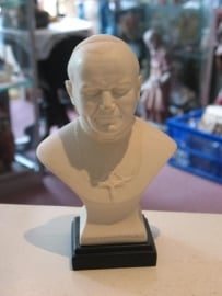 Johannes Paulus II Paus Albast buste 16 cm (A)