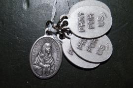 Medaille Kateri Tekakwitha 2 cm