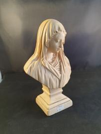 Maria buste , 19cm, gips (12)