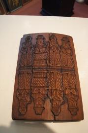 .Speculaasplank antiek ca. 1900, Sinterklaas, 30 x 20 cm