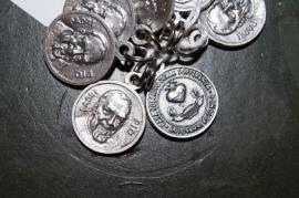 Medaille Pater Pio / Casa Sollievo della Sofferenza 1.5 cm