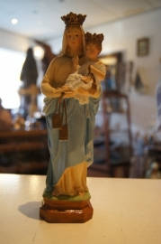 Maria, OLV Scapulier, 20 cm gips