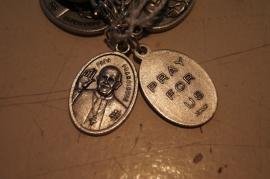 Devotie medaille Paus Franciscus 2 cm