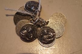 Devotie medaille Johannes Apostel / Evangelist 1.5 cm