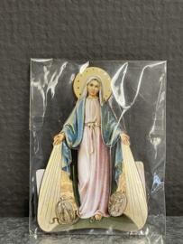 Maria Miraculeus, wonderdadige, 7 cm, koelkast magneet