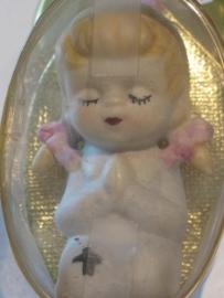 Porselein communicantje (meisje) 8 cm (8)