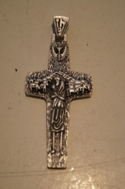 Paus Franciscus kruis 9 cm