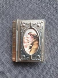 Rozenkrans doosje, Heilige Antonius,5.5 cm