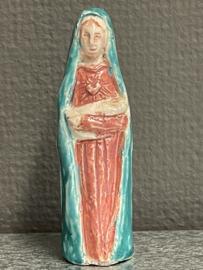 Maria met kind, gips, 10 cm (6)