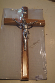 Crucifix olijfhout 20 cm