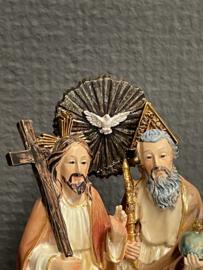 Drieeenheid, Vader, Zoon, Heilige Geest, resin, 11 cm (2)