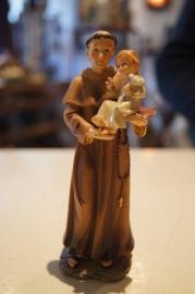 .Antonius van Padua, resin 13.5 cm