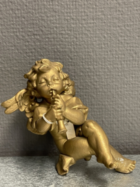Engel met fluit, Keller, kunststof, 14 cm (10)
