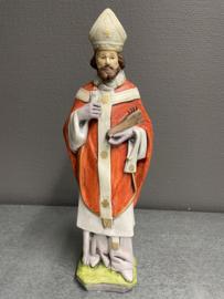 Blasius van Sebaste, bisschop, 30 cm Franse steen (5)