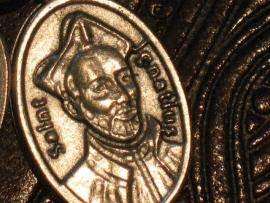 Devotie medaille Ignatius van Loyola  2 cm